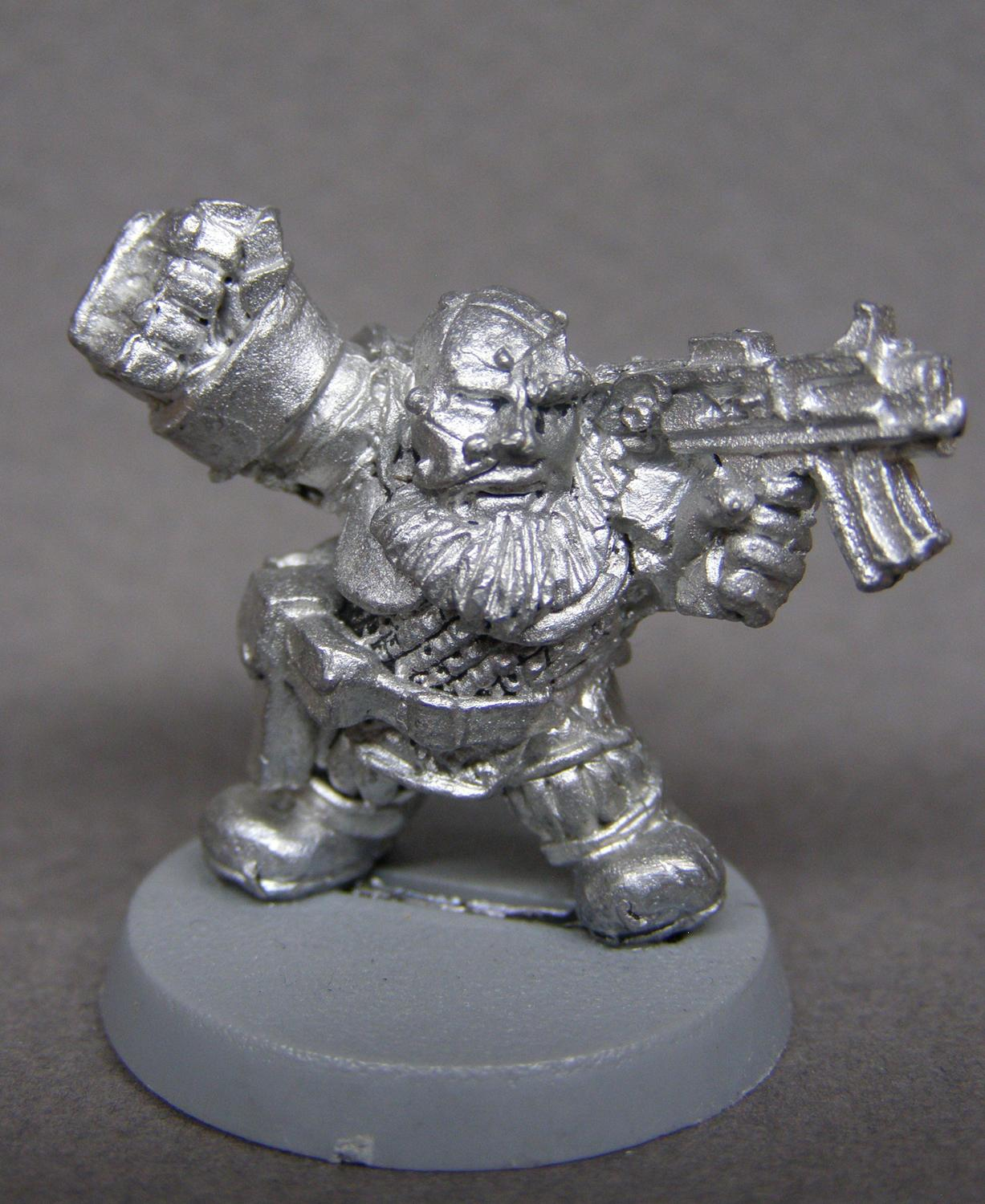 Captain, Power Fist, Squats, Warhammer 40,000