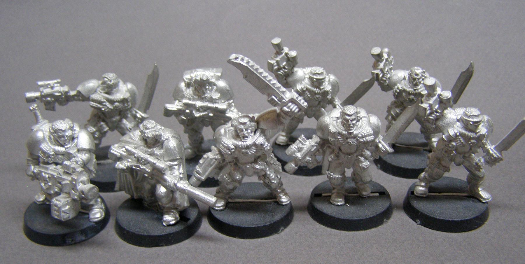Out Of Production, Scouts, Warhammer 40,000
