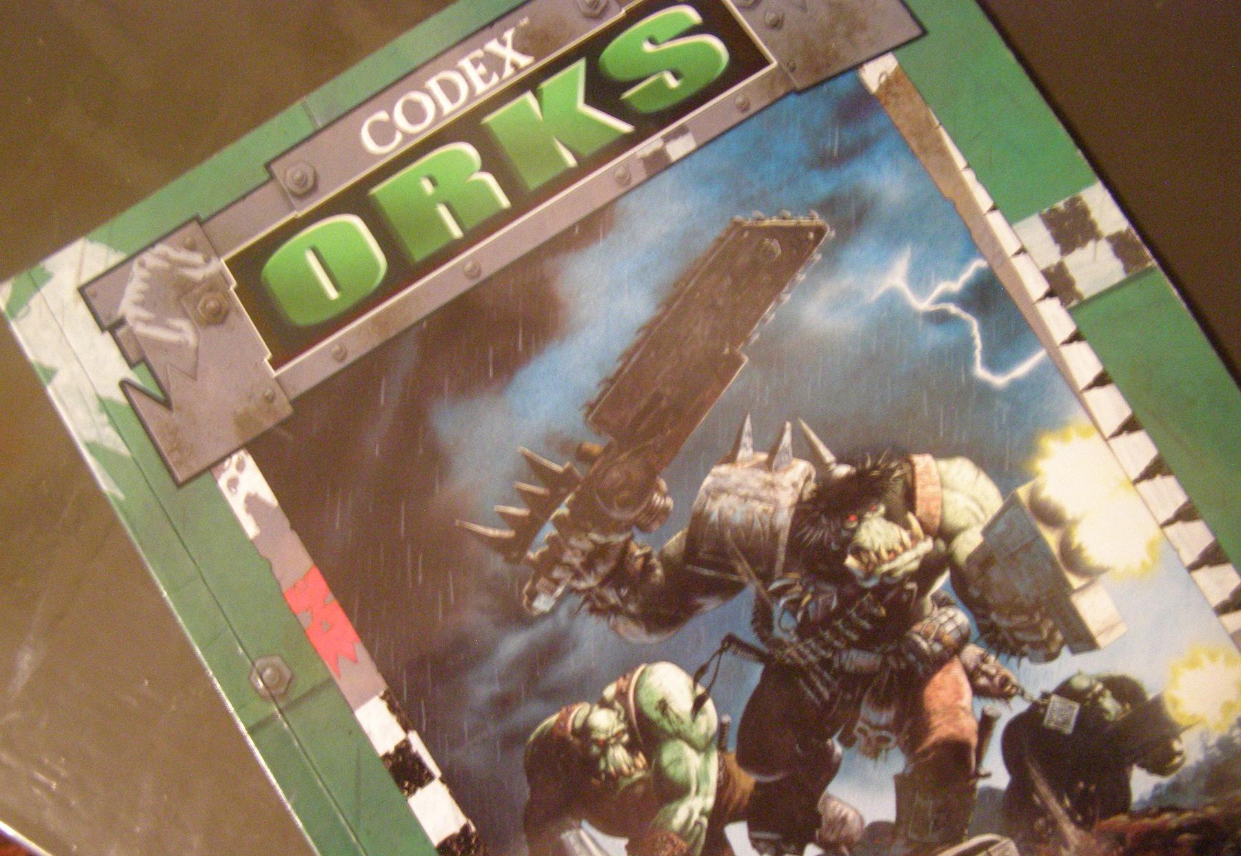 Codex, Orks, Warhammer 40,000