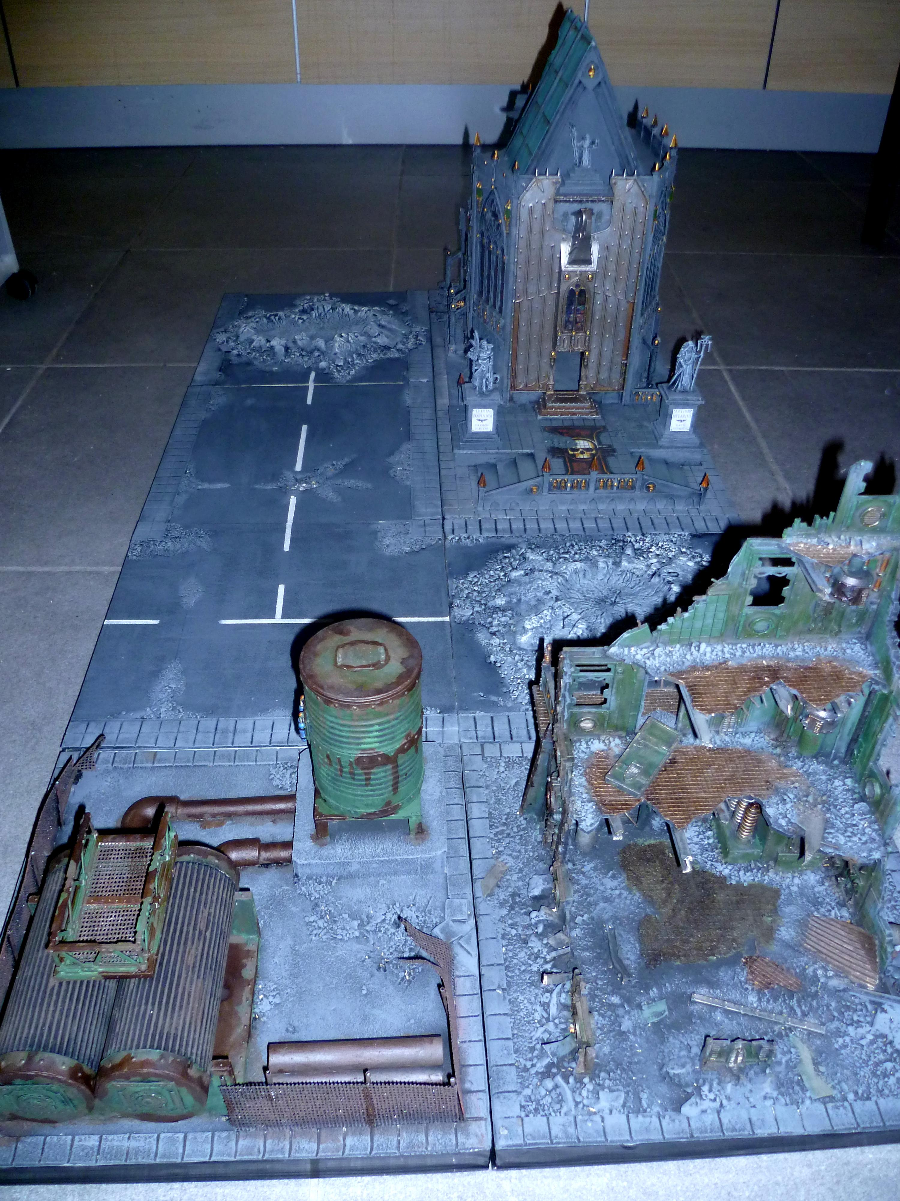 Diorama, Game Table, Imperial, Terrain