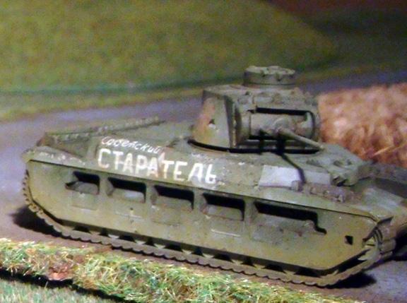 Flames Of War, Matilda 2, Russians, Tank