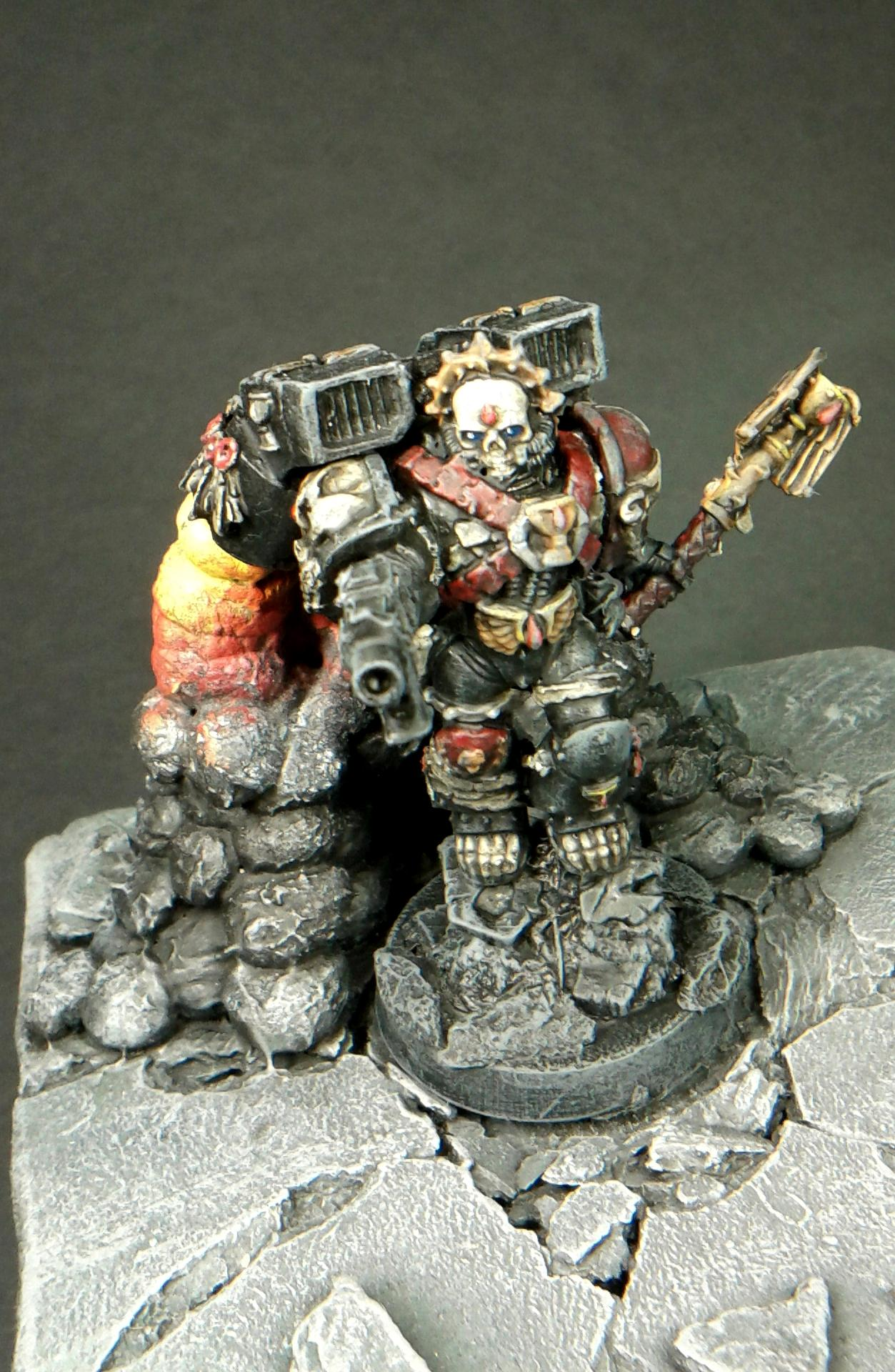 : ...if You Have Any Question About Something - Just Drop It To The Comment... Zdrowia! No Space For Hobby And No Airbrush... ;(, Chaplain, Guardian Of The Lost, Insert Base, Lemartes
