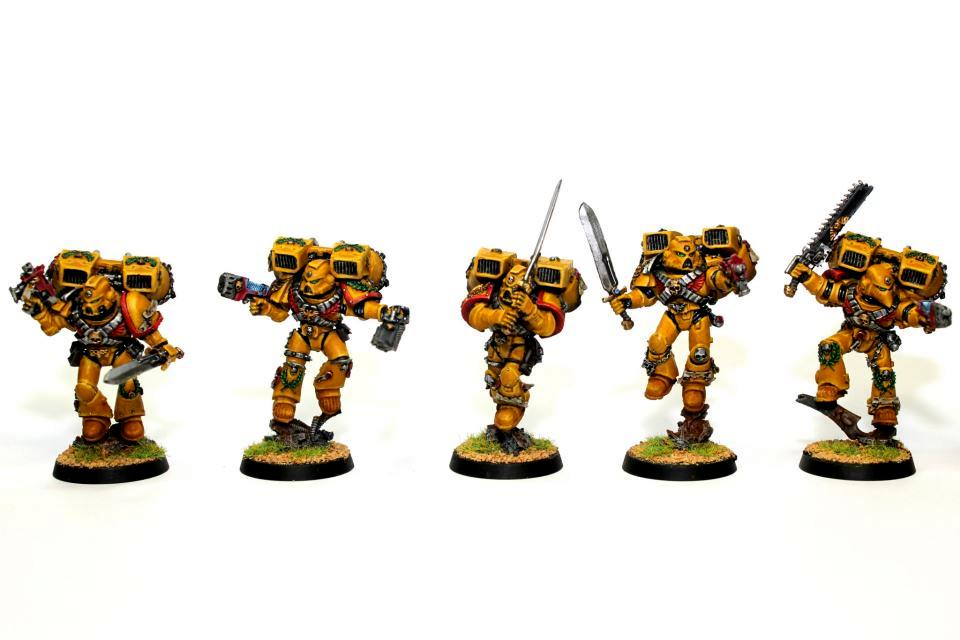 Imperial Fists, Jump Pack, Space Marines, Vanguard, Vanguard Veterans