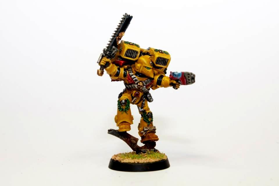 Assault Marines, Imperial Fists, Space Marines, Vanguard