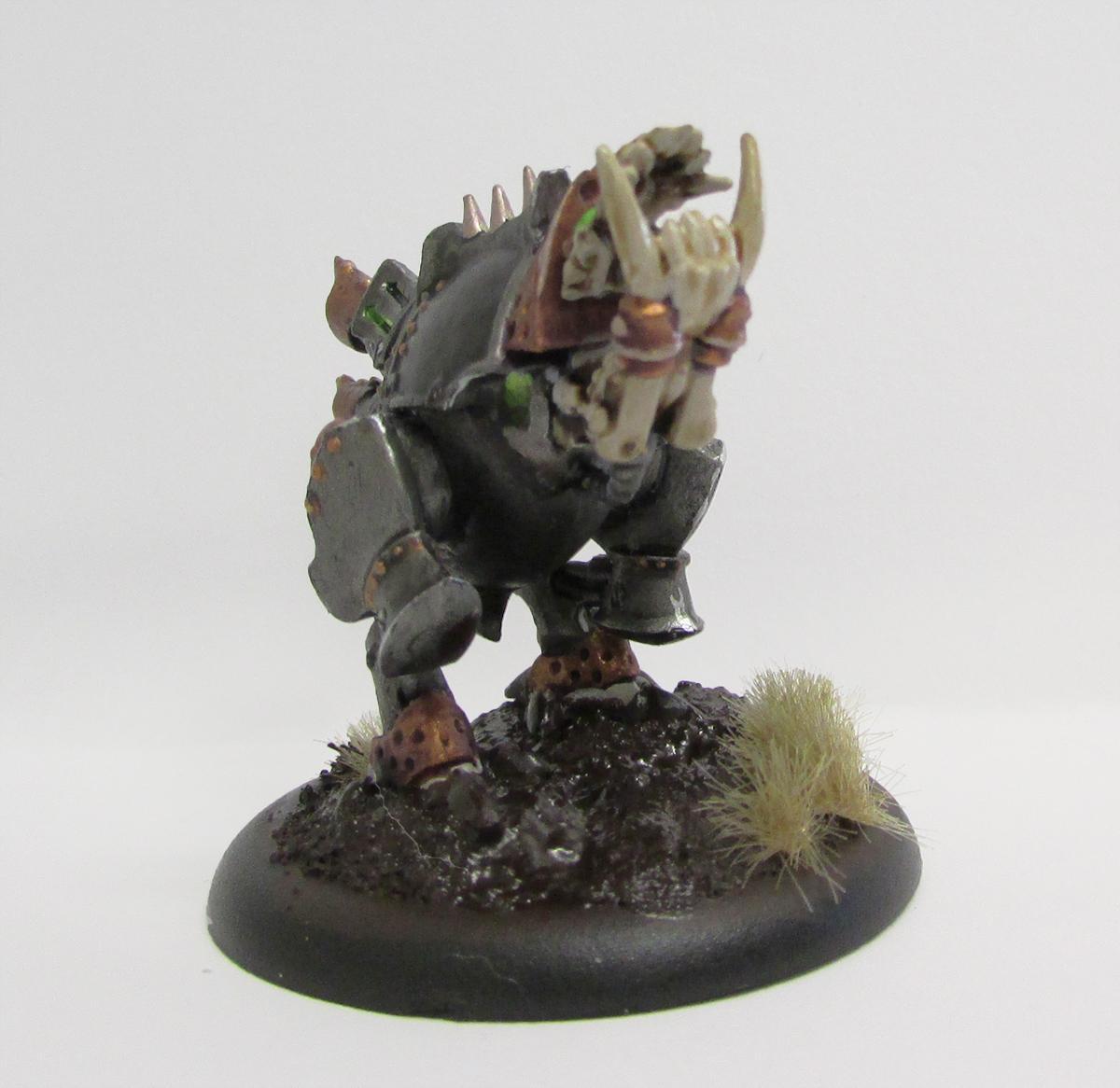 Cryx, Deathripper, Mud Base, Privateer Press, Warjack, Warmachine