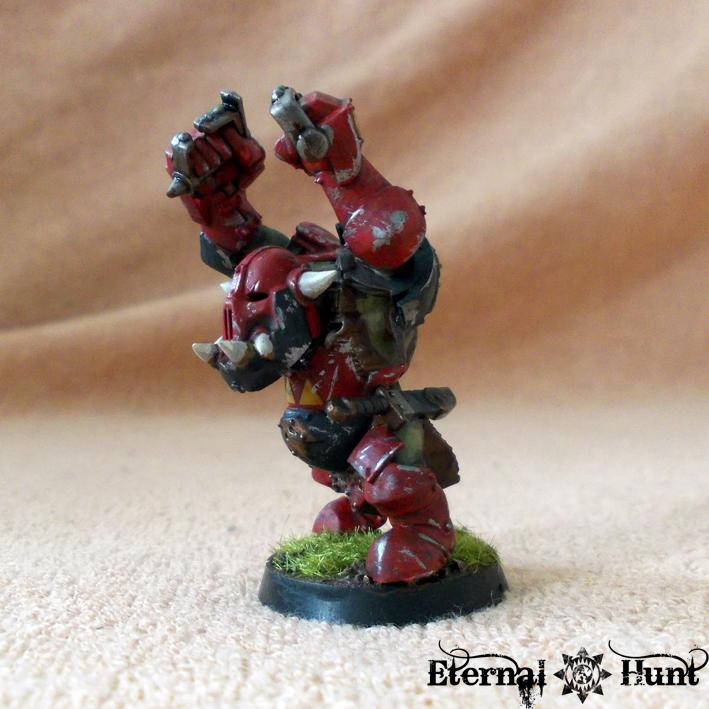 Bb, Black Orc, Blocker, Blood Bowl, Greenskins, Orc Team, Orcs, Orcs & Goblins, Orkheim Ultraz, Team