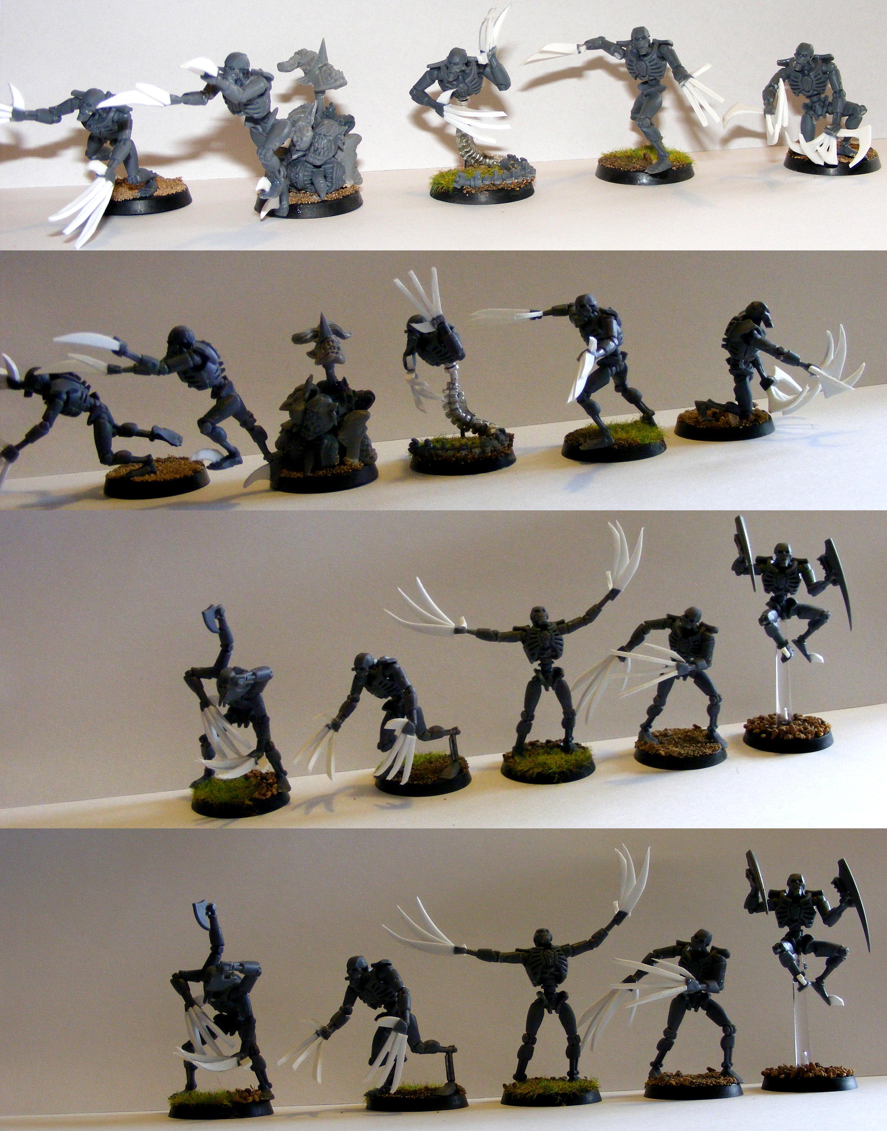 Conversion, Flayed Ones, Necrons, Warhammer 40,000