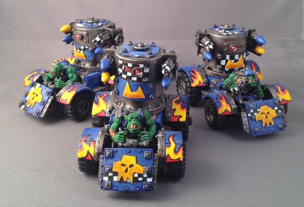 Buggy, Orks, Rokkit, Warhammer 40,000