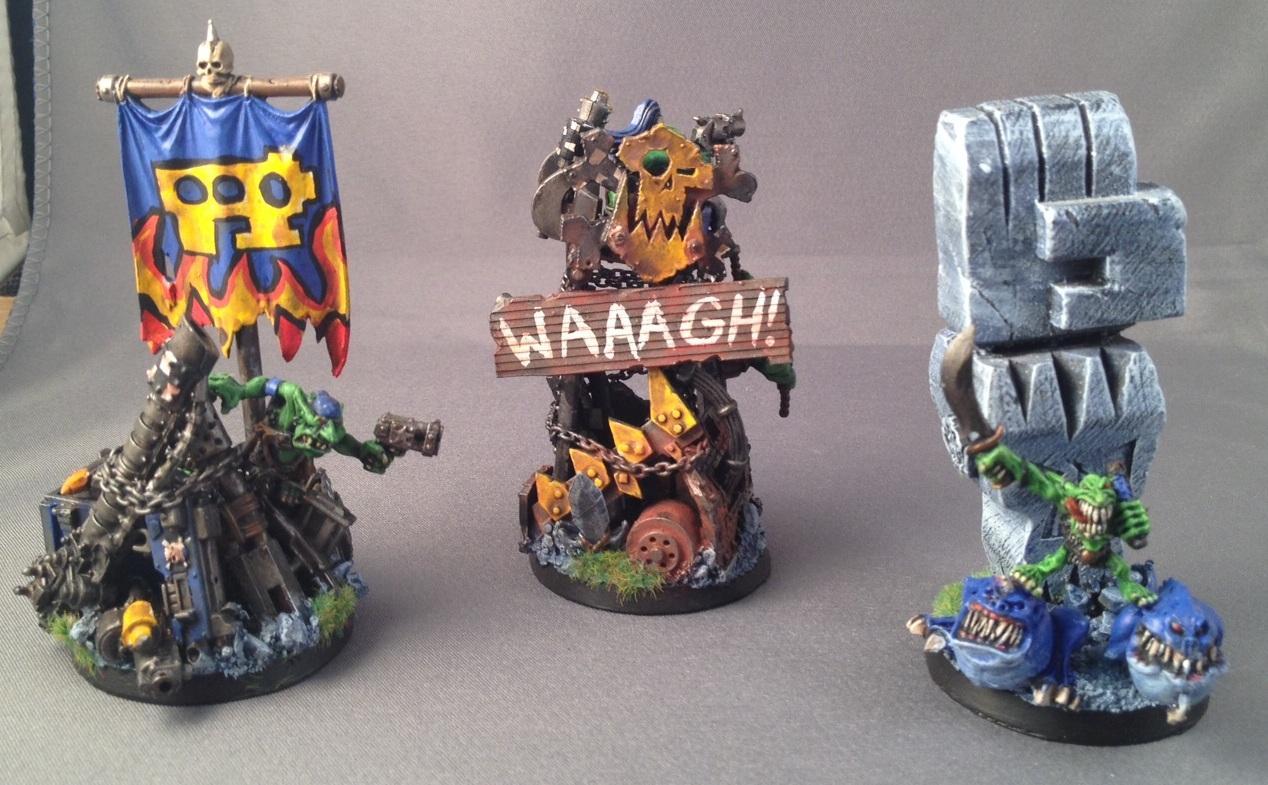 Objective Marker, Orks, Waagh Banner, Warhammer 40,000