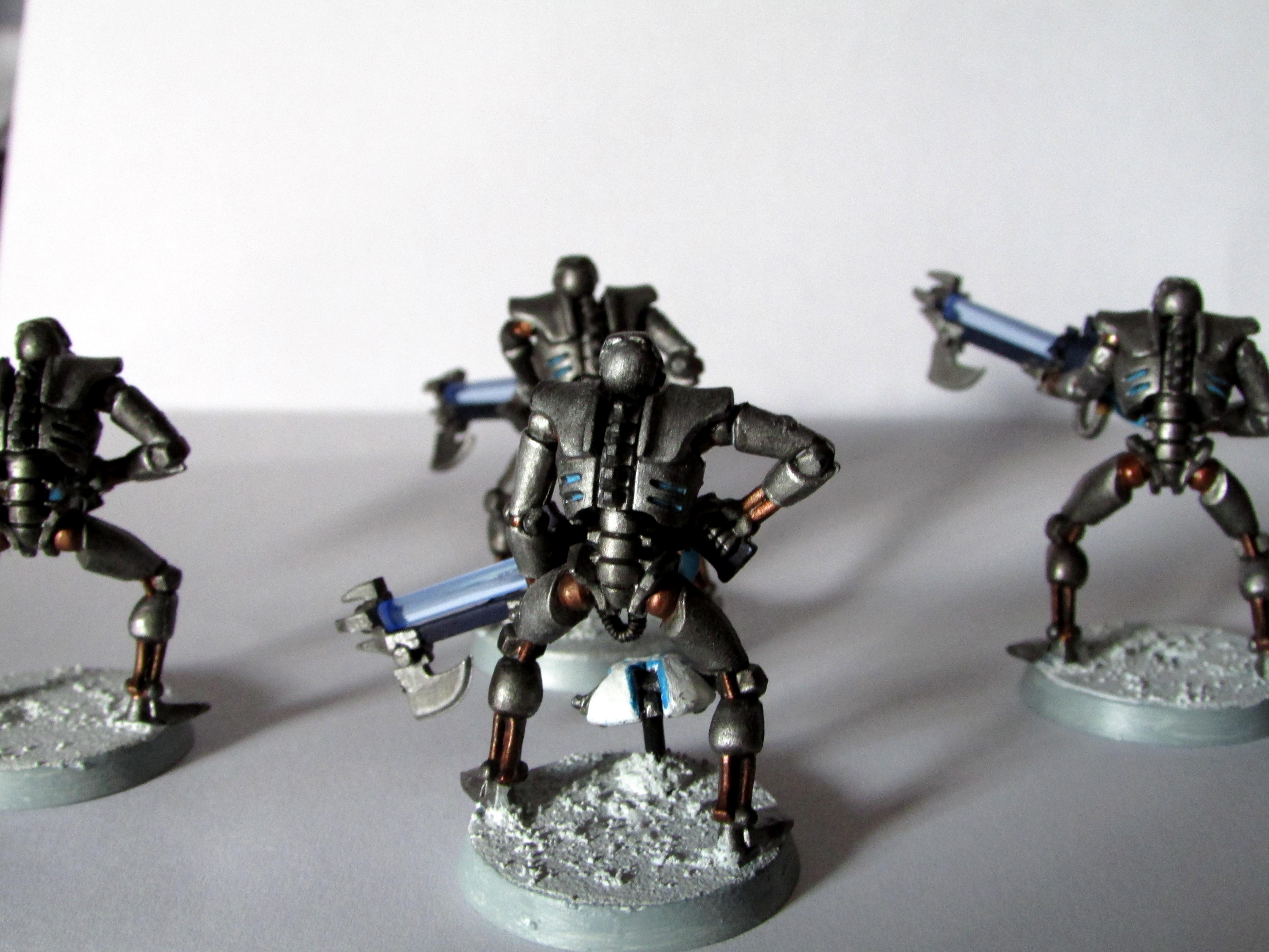 Ice World, Necrons, Warriors