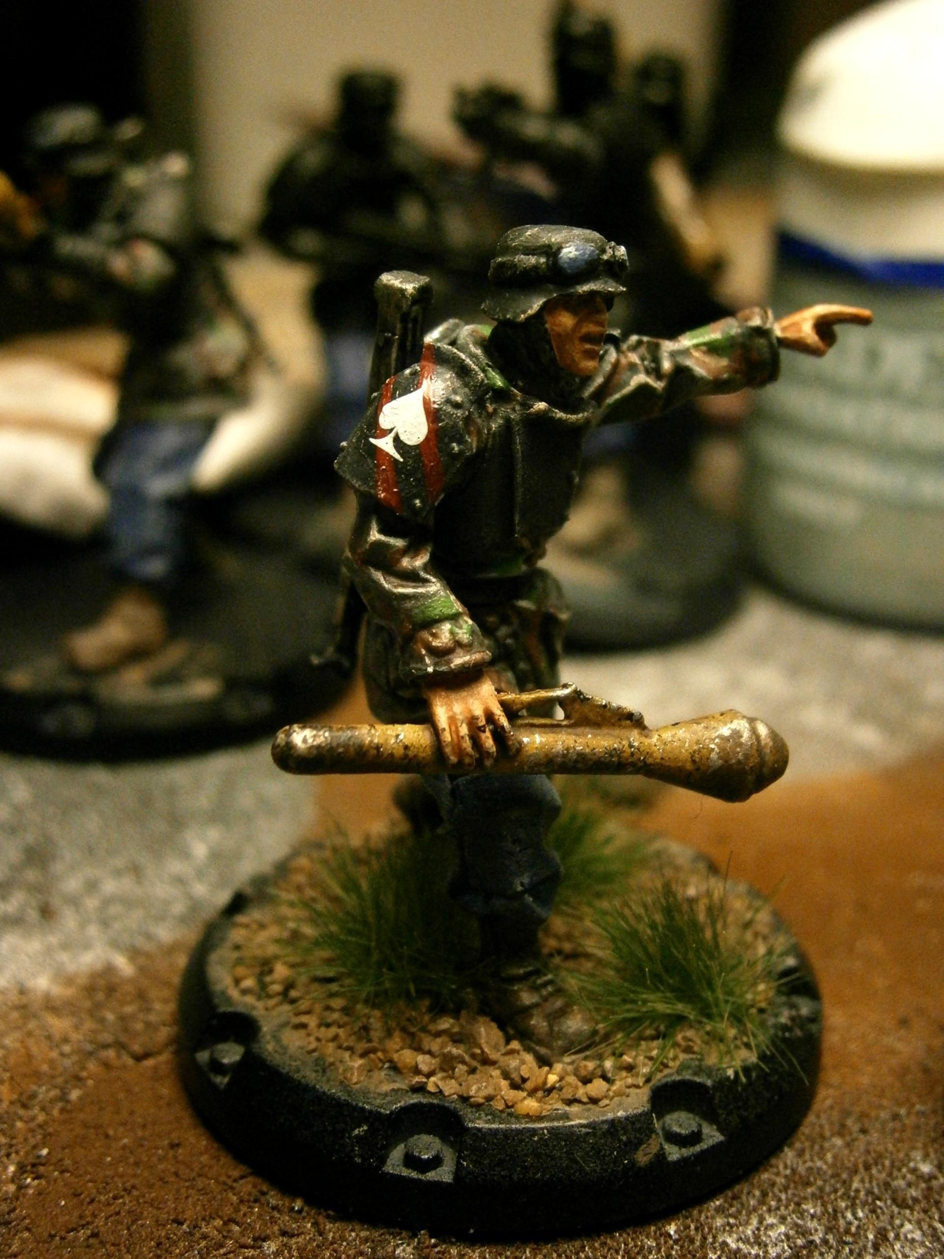 Dust Tactics Warfare Axis Grenadier