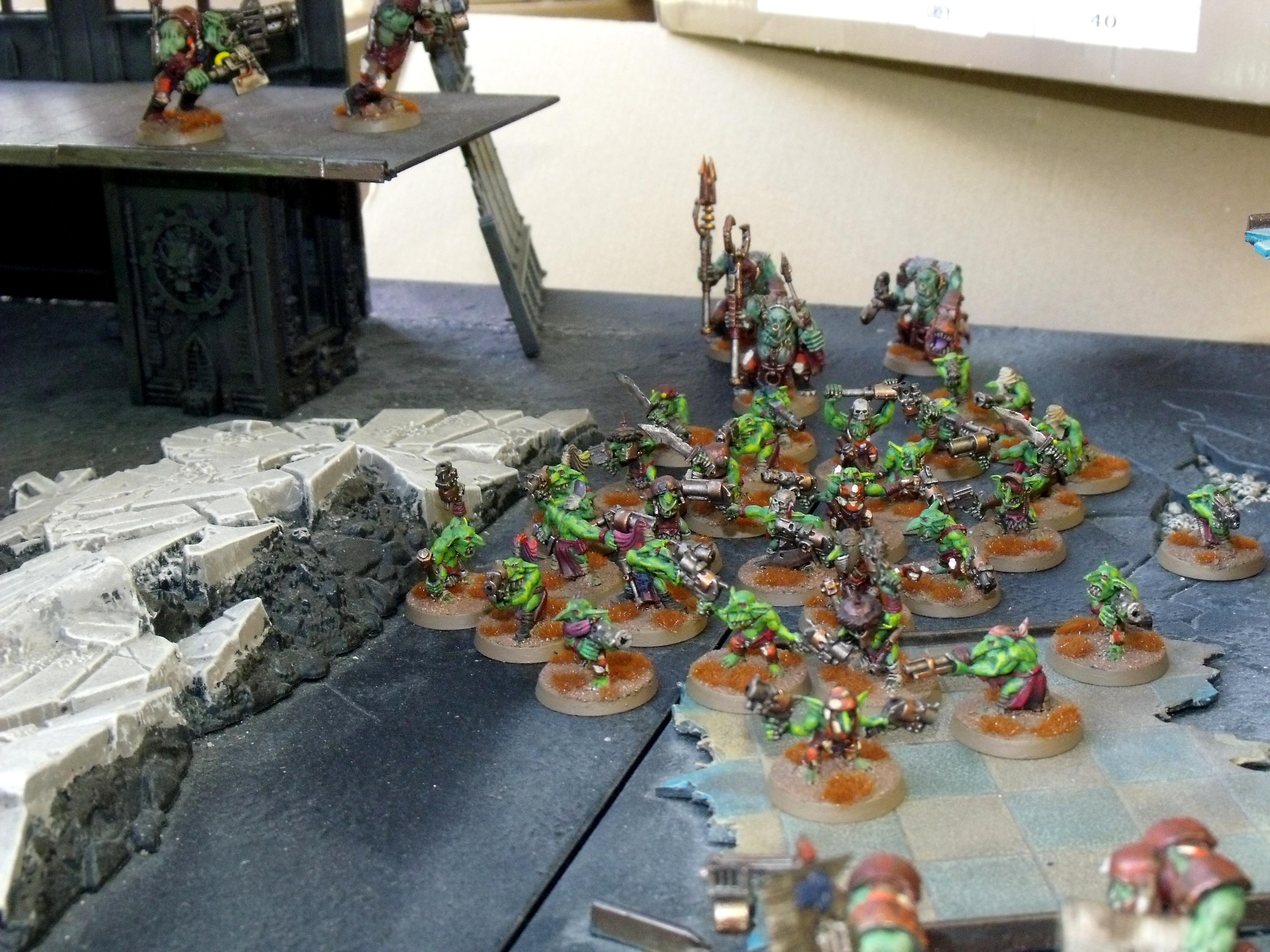 Gretchin, Orks, grots