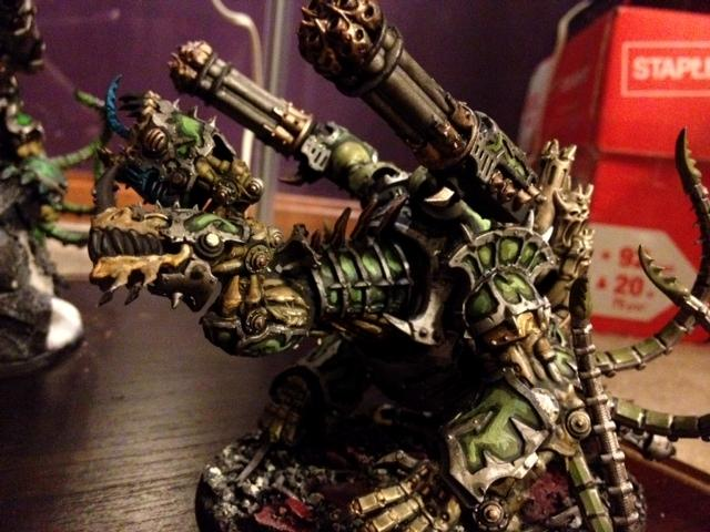Chaos, Conversion, Forgefiend, Get In The Game Painting Blog, Maulerfiend