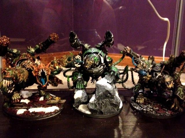 Chaos Space Marines, Conversion, Forgefiend, Maulerfiend, Warhammer 40,000