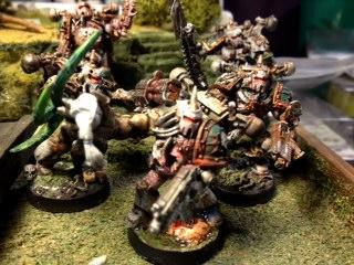Chaos Space Marines, Death Guard, Get In The Game Paining Blog, Nurgle, Plague Marines, Warhammer 40,000