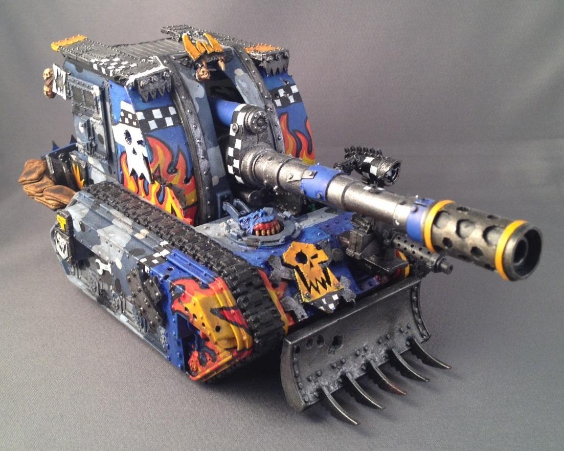 Basilisk, Boomwagon, Looted, Orks, Warhammer 40,000