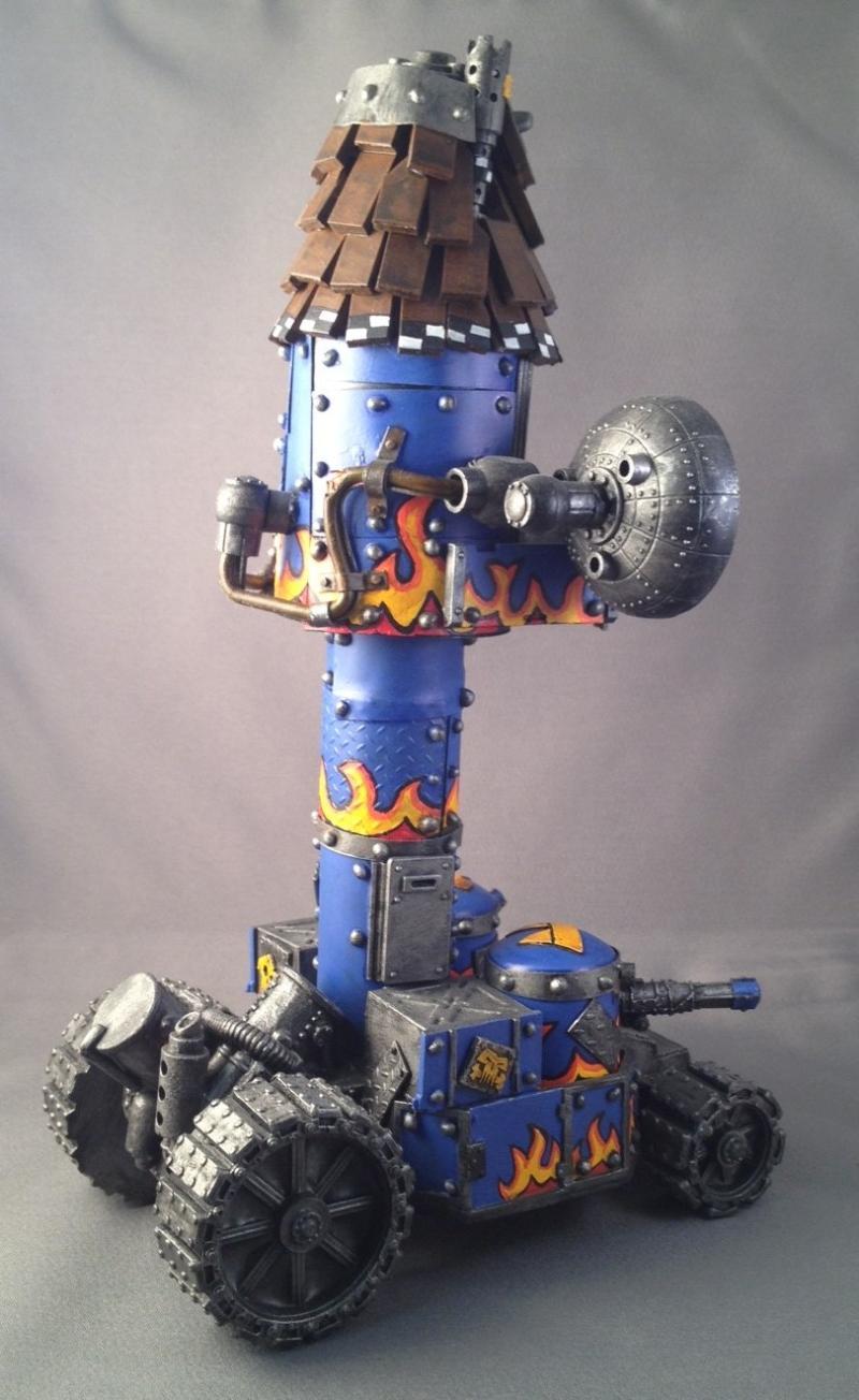 Armorcast, Battlewagon, Orks, Warhammer 40,000, Weirdboy Tower