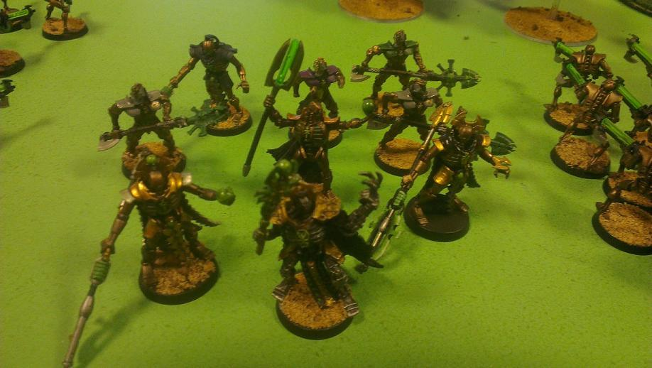 Death Star, Necrons, Royal Court, Squad