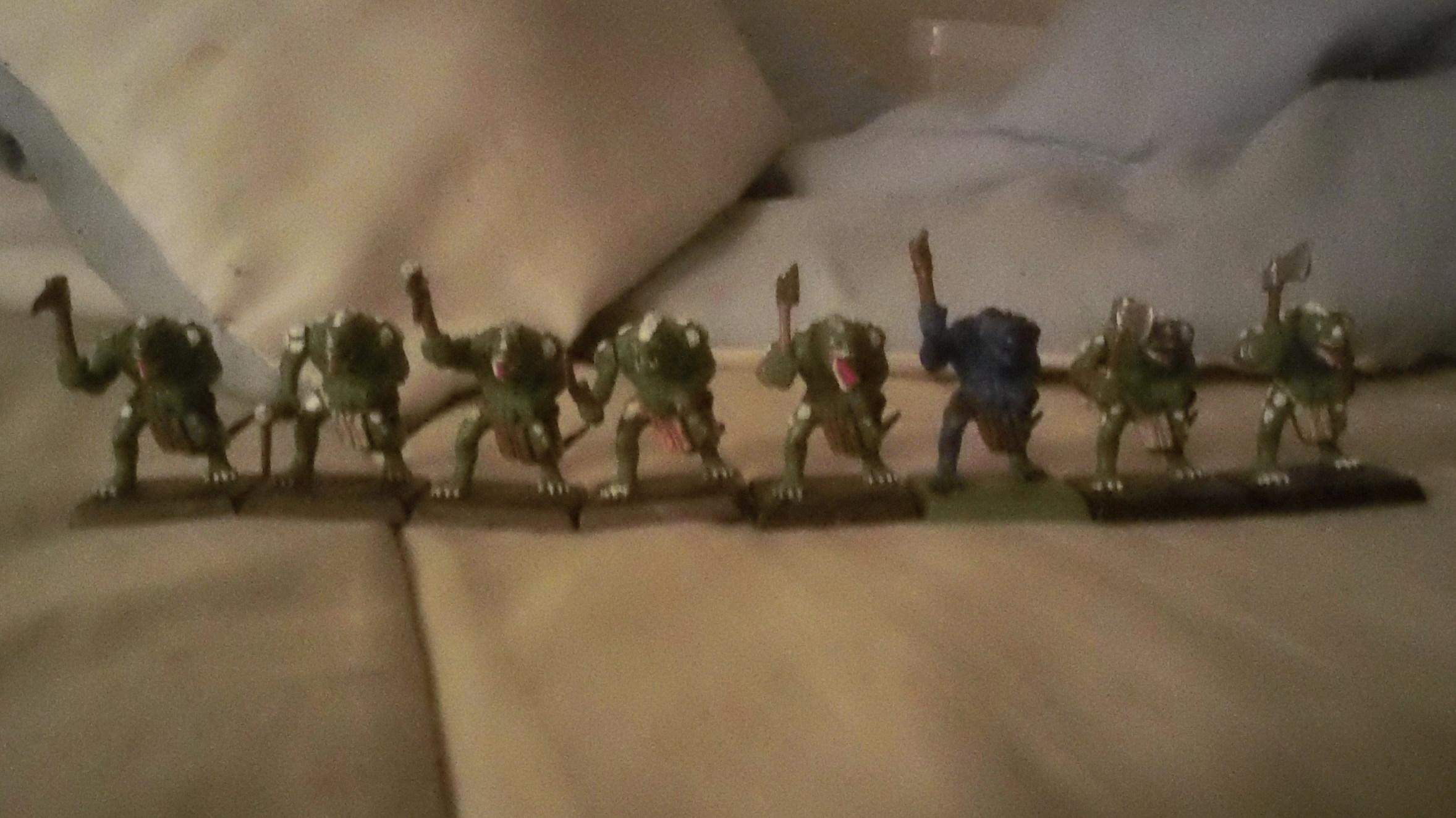 Back in the day Lizardmen!!!