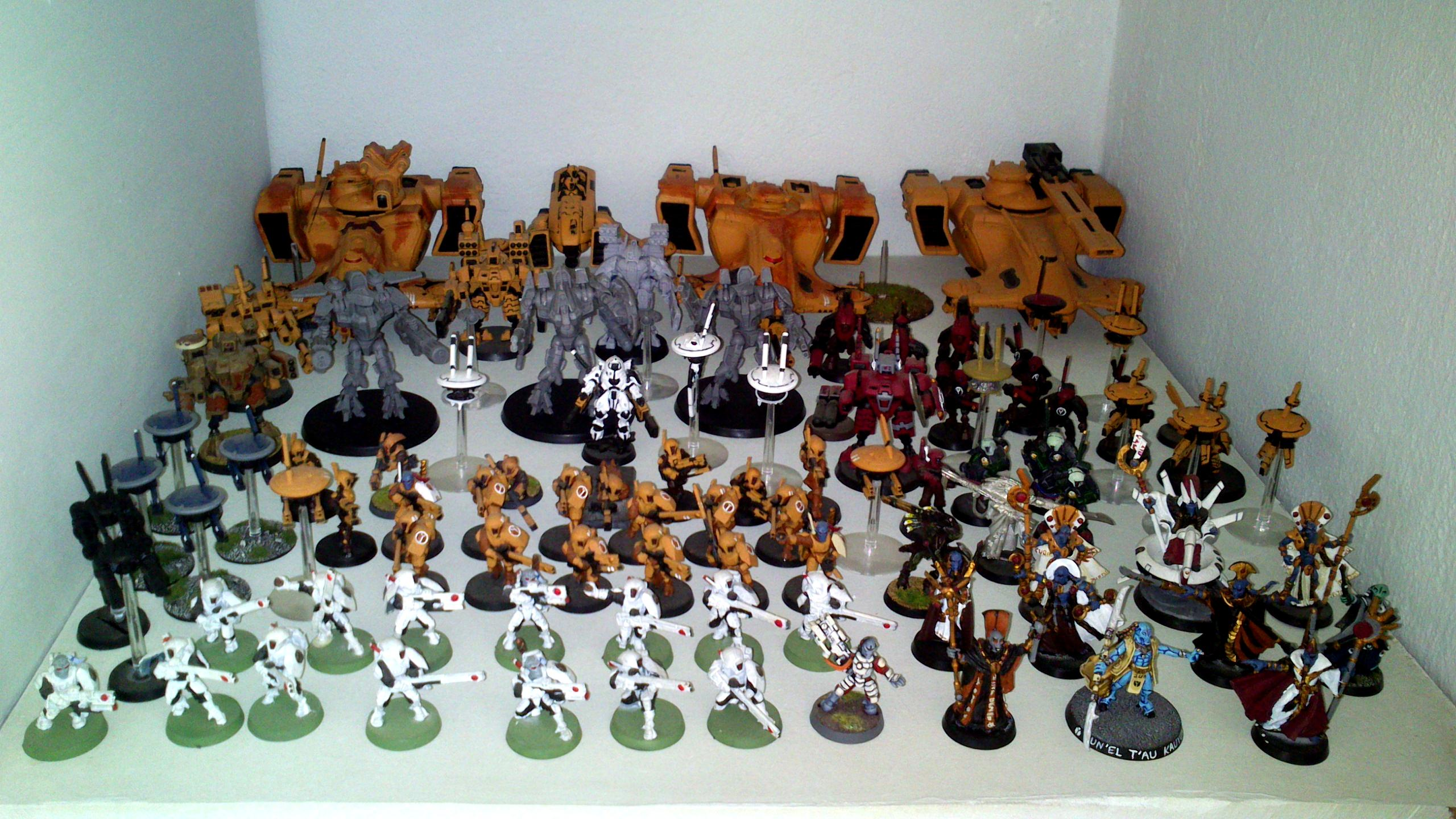 Army, Battlesuit, Empire, Tau