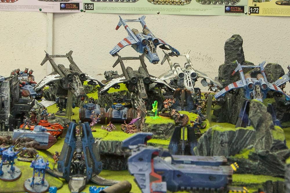 Apocalypse, Moscow, Russians, Space Wolves, Warhammer 40,000