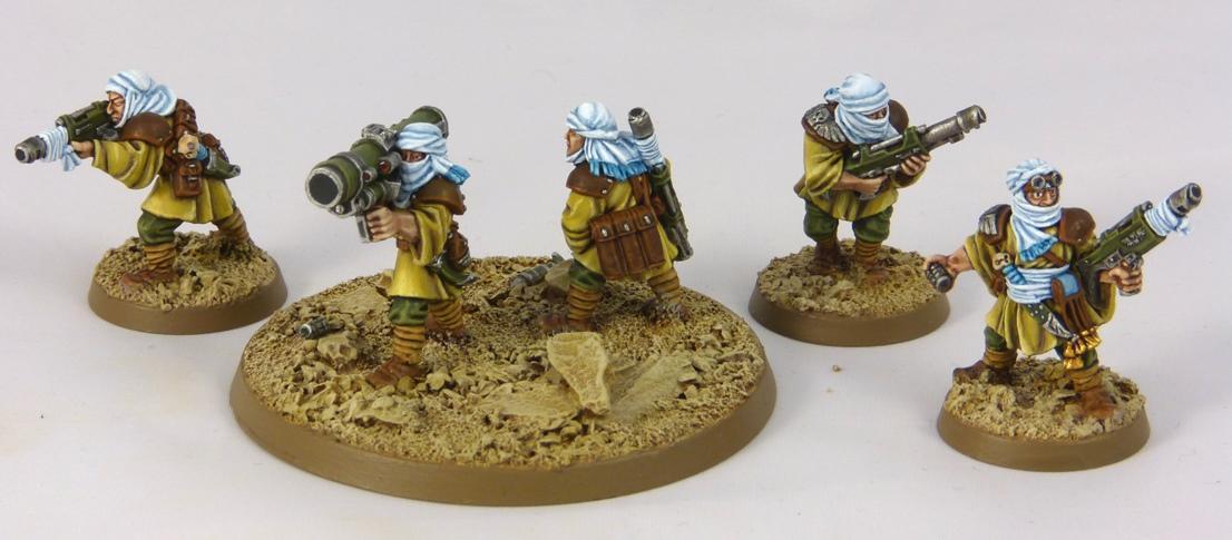Desert, Guard, Imperial, Raiders, Tallarn Desert Raiders