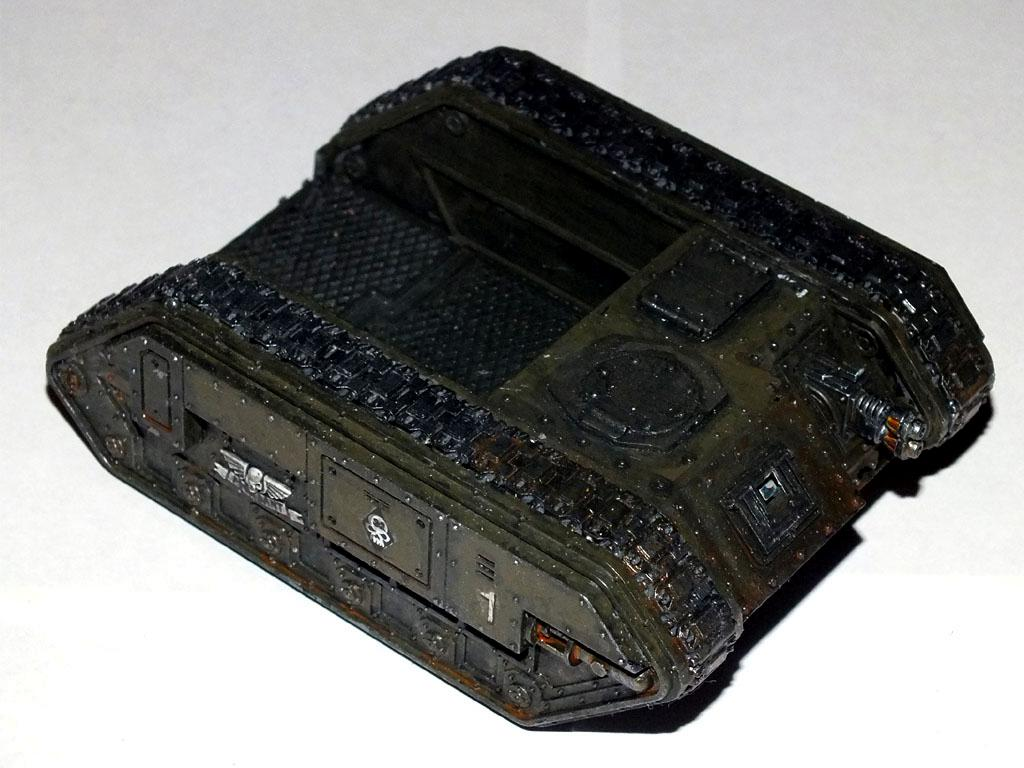 Rats, Tunnel War, Chimera Chassis