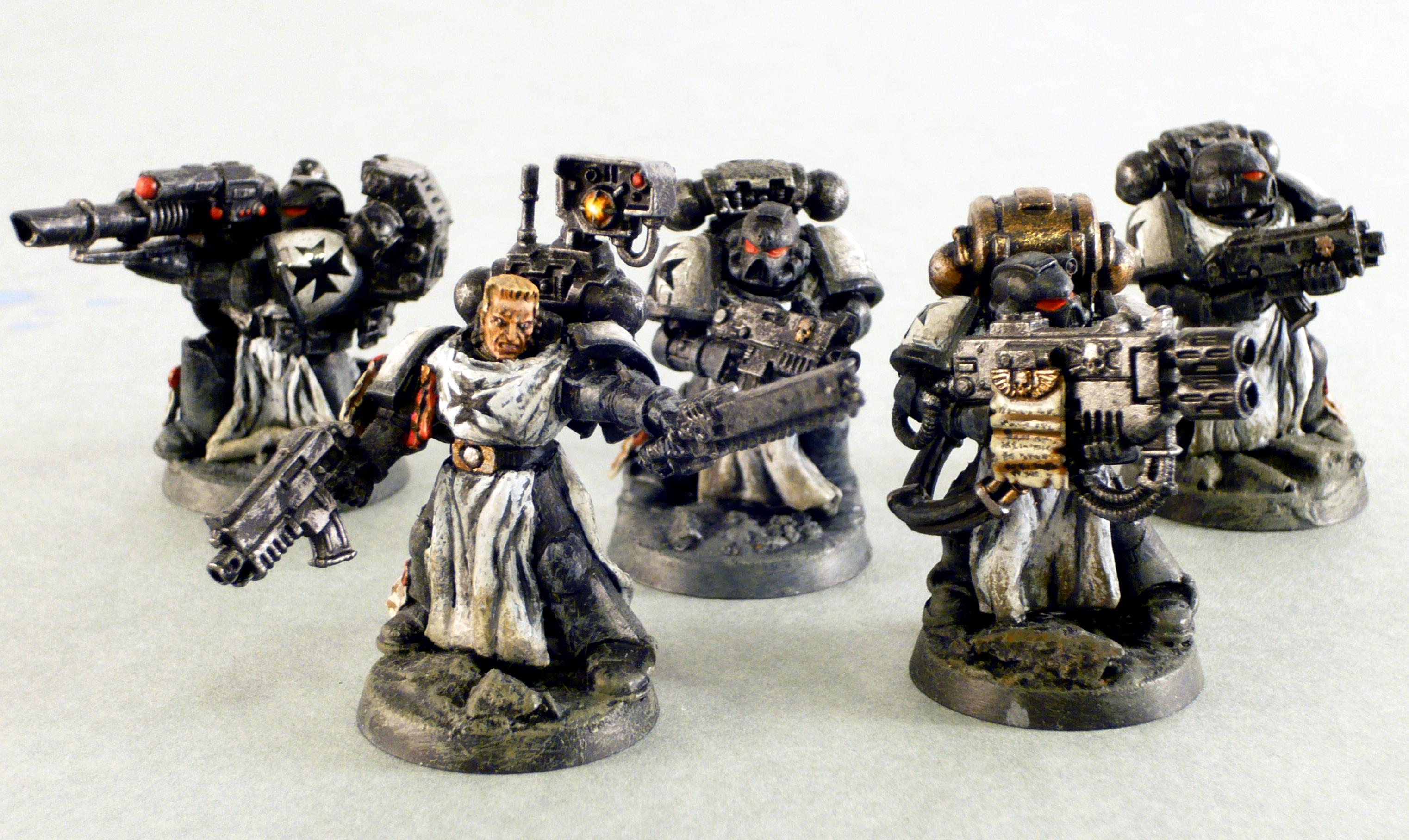 Black Templars, Conversion, Milliput, Mod, Space Marines, Templars