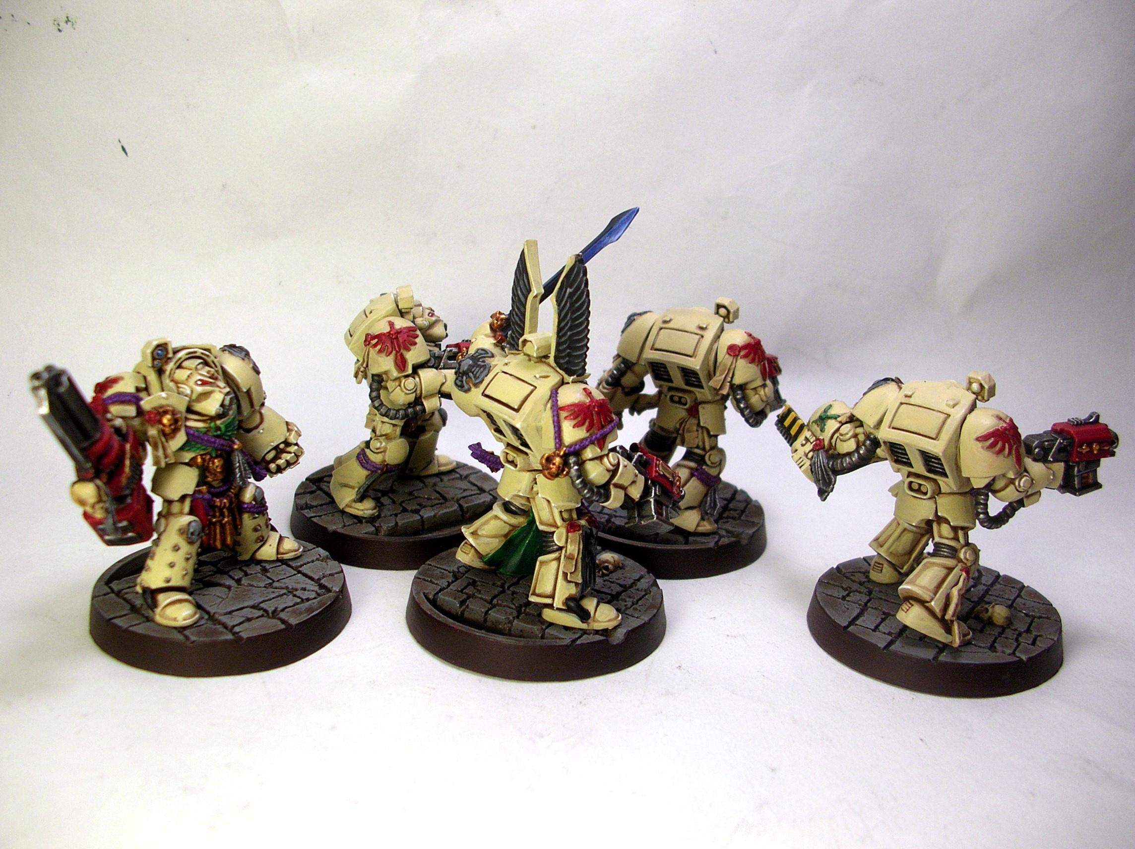 Dark Angels, Dark Vengeance, Deathwing, Space Marines, Terminator Armor