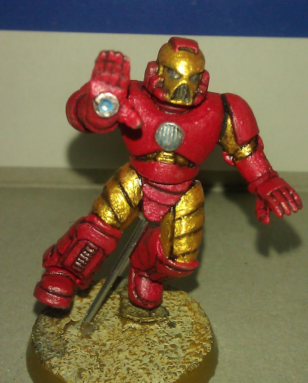 Comic Book, Iron Man, Marvel, Space, Space Marines, Superhero