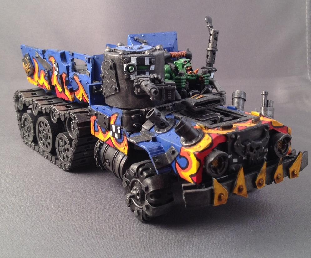 Halftrakk, Orks, Trukk, Warhammer 40,000
