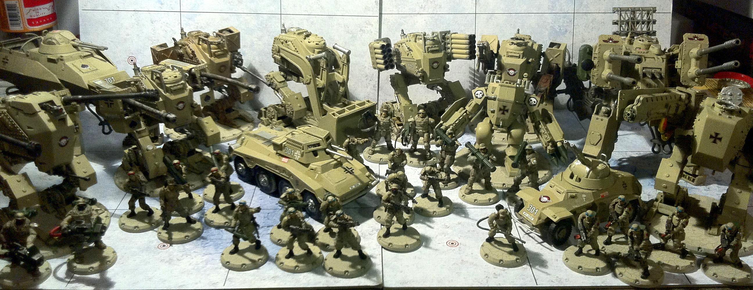 Dust Tactics, Dust Warfare, Ndak