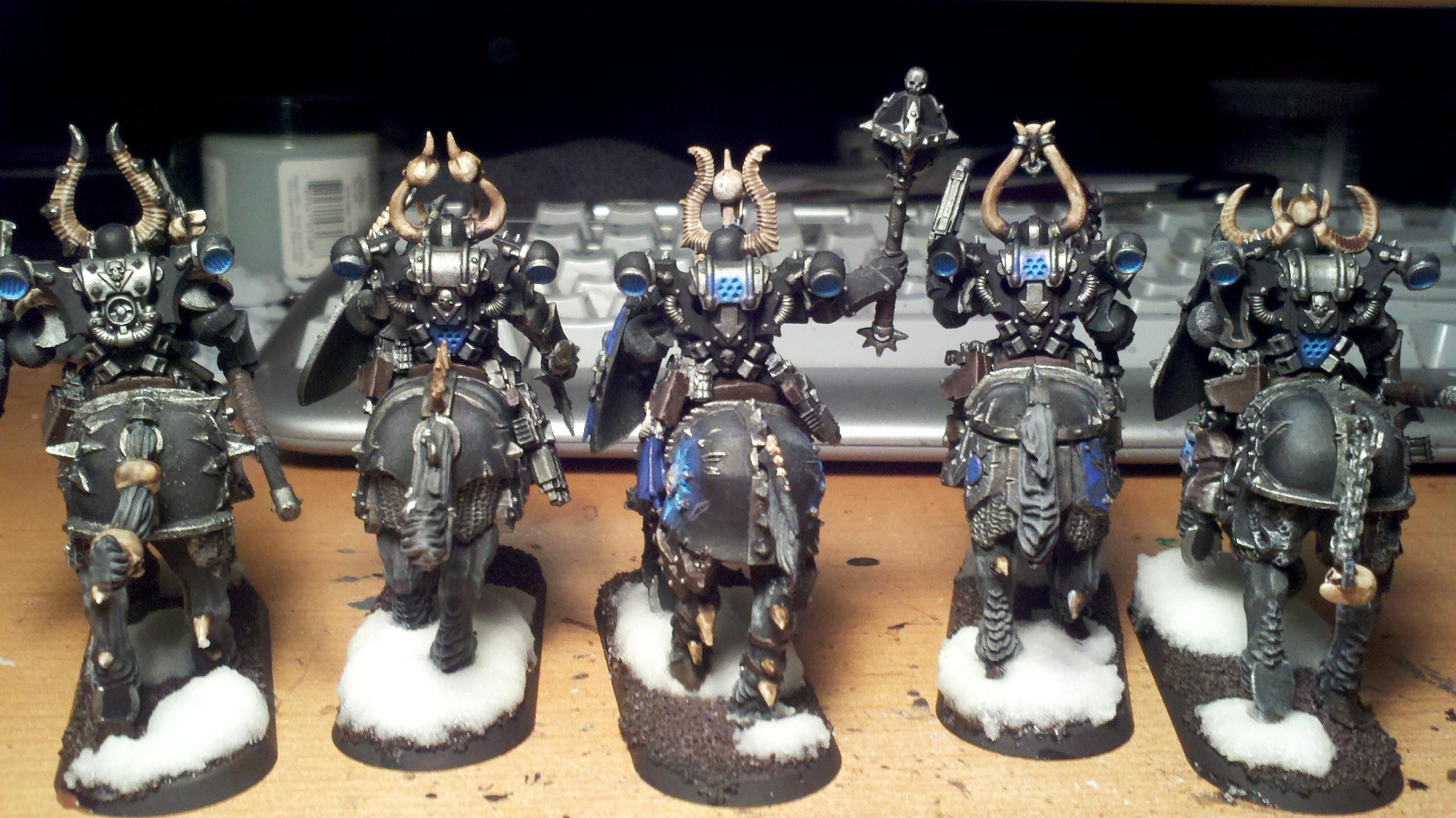 "Chaos Space Marines, CSM ""Bikers"" Back"