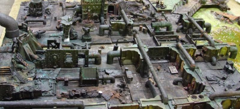 Industrial, Necromunda, Terrain, Underhive