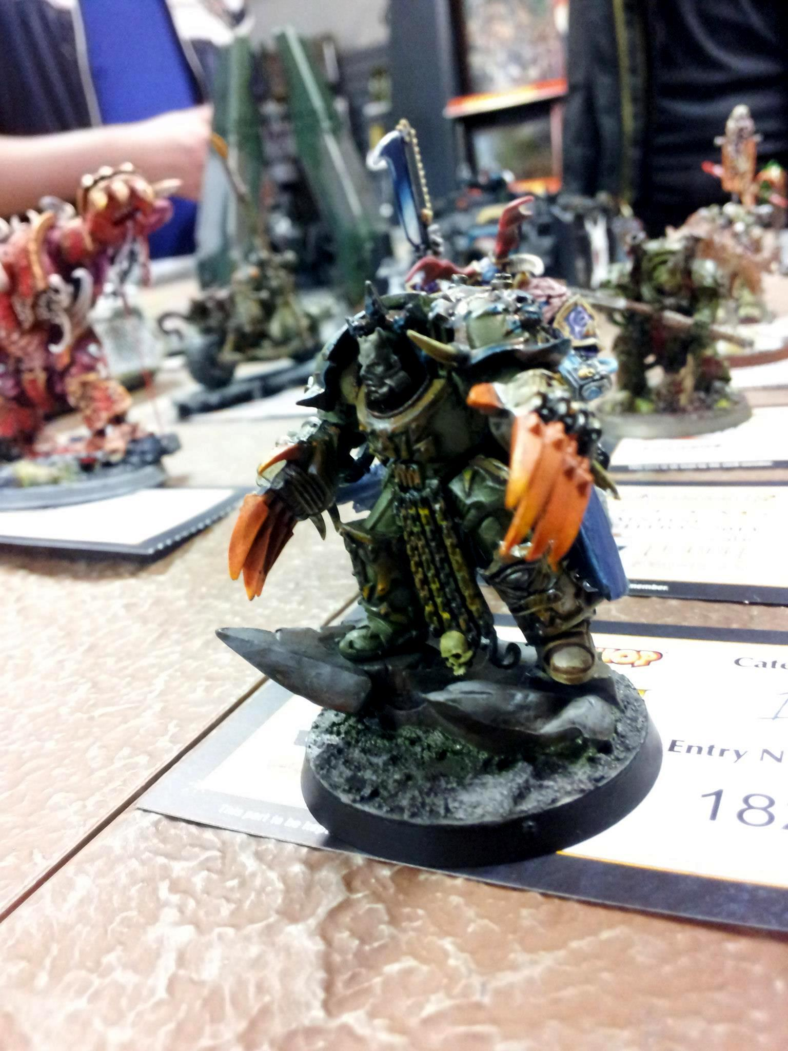 Chaos, Flylords, Lord, Nurgle, Terminator Armor, The Fang Painting Competition 2013