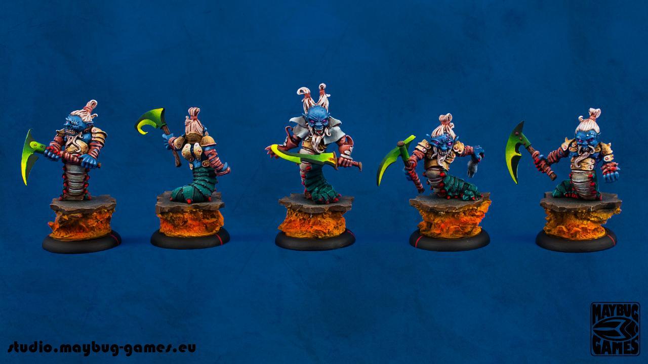Chaos Dwarf, Confrontation, Dwarves, Rackham