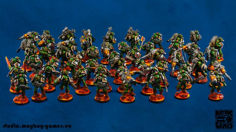 Salamanders Army, Space Marines
