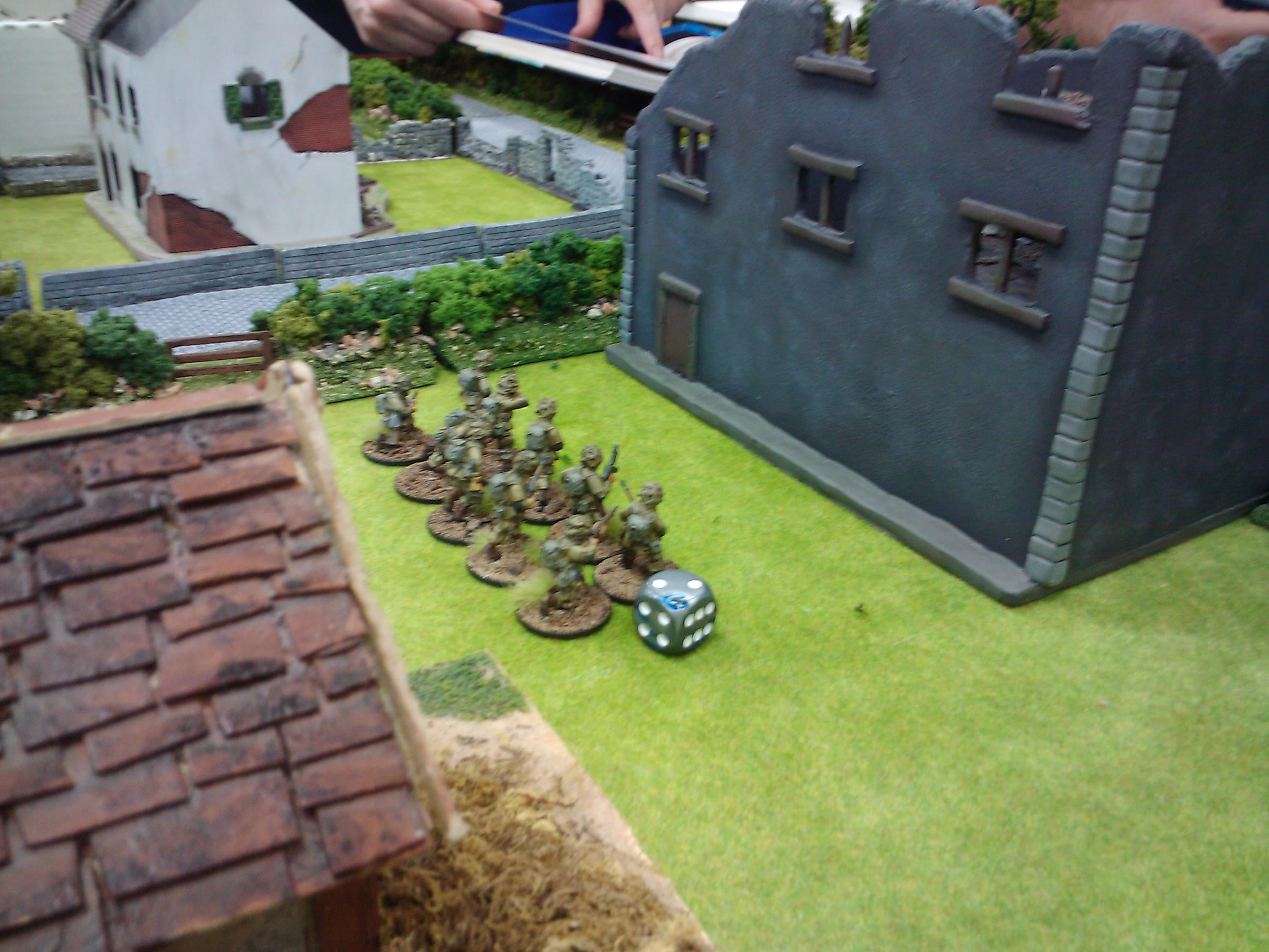 28mm, Army, Bolt Action, Demo, Game, Germans, Historical, Russians, Terrain, Us Army, Warlord Games, World War 2