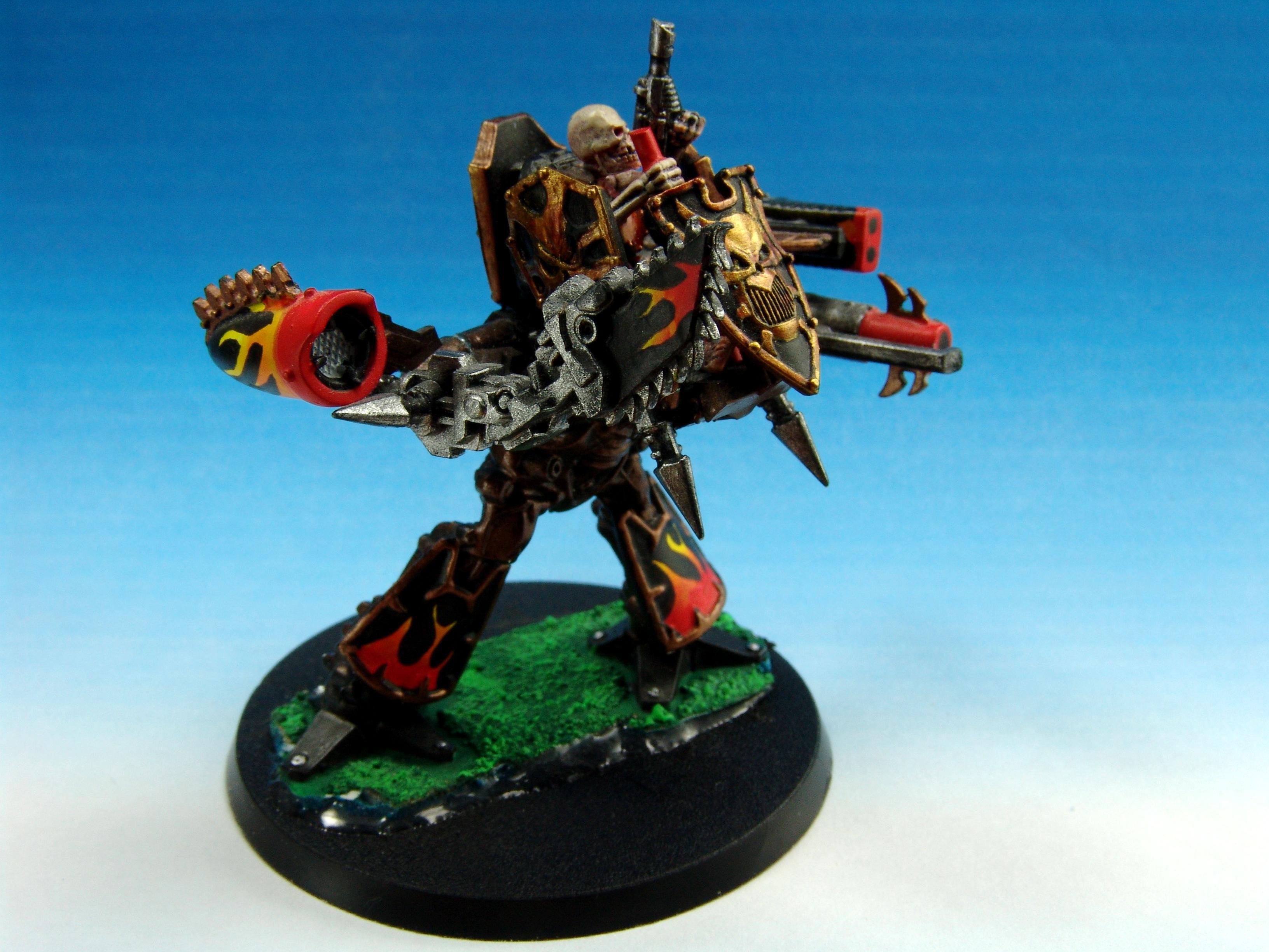 Epic 40k, Sentinel, Titan, Traitor Guard