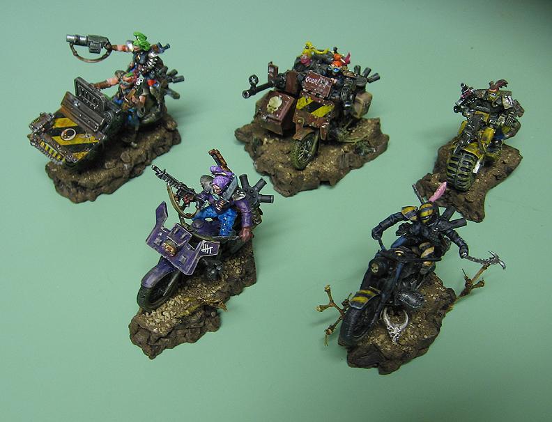 Five Bike Raiders