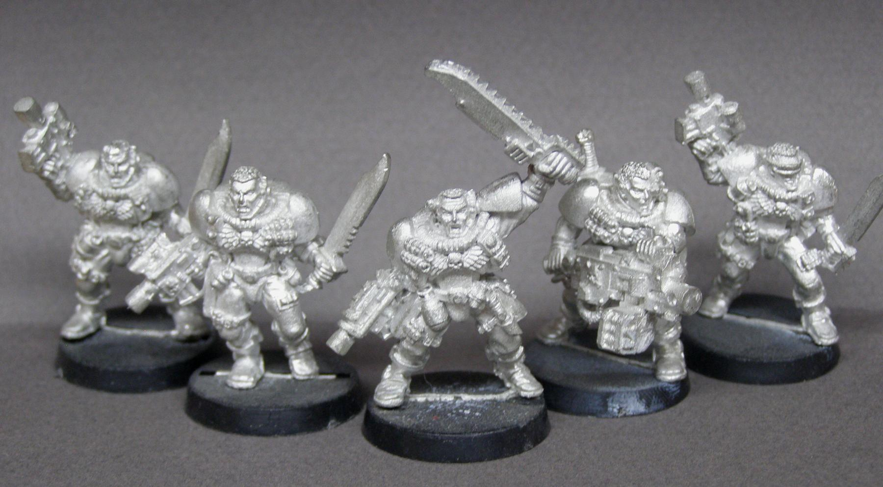 Heavy Bolter, Scouts, Space Marines, Warhammer 40,000
