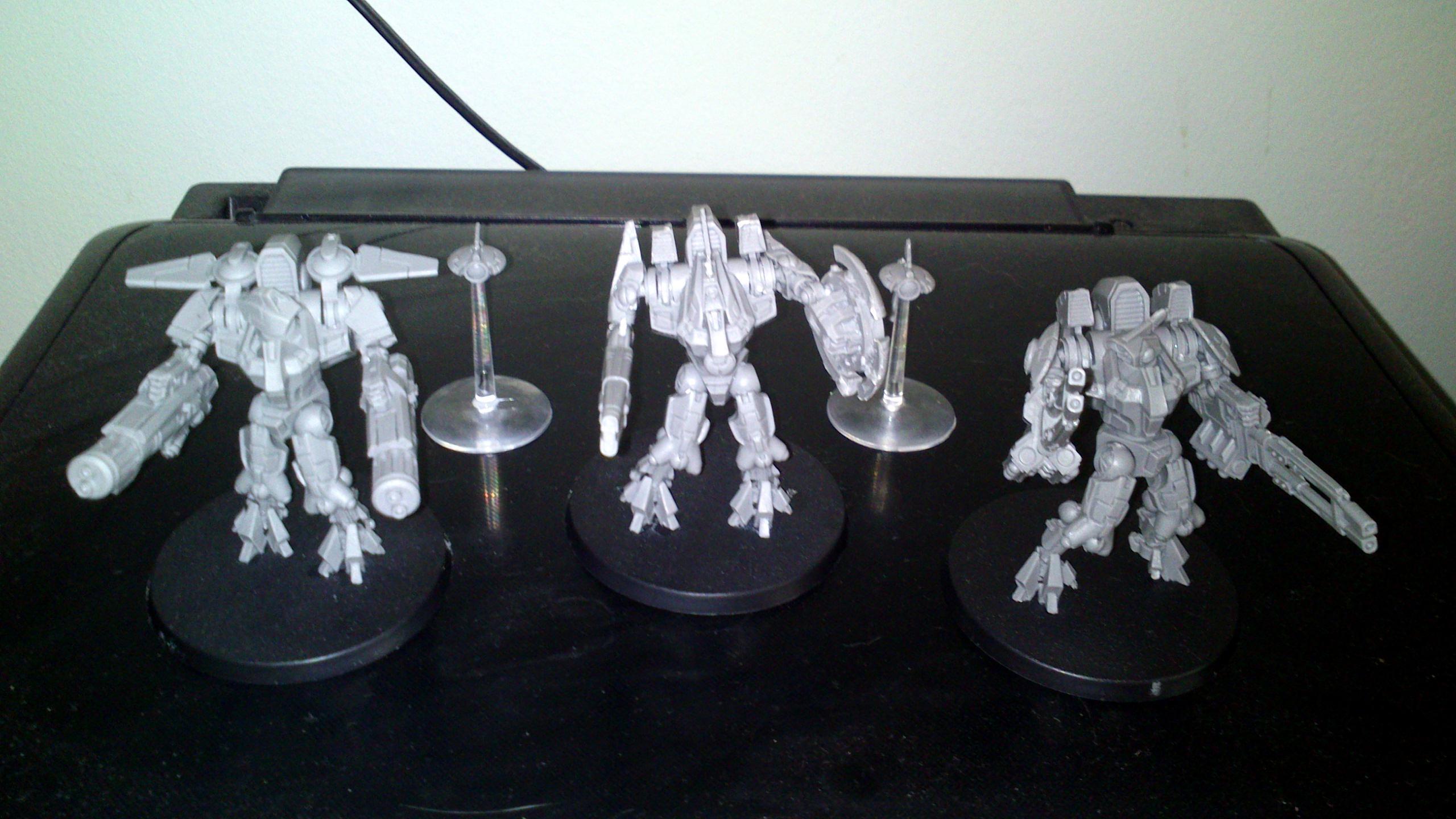 Battlesuit, Tau, Xv9