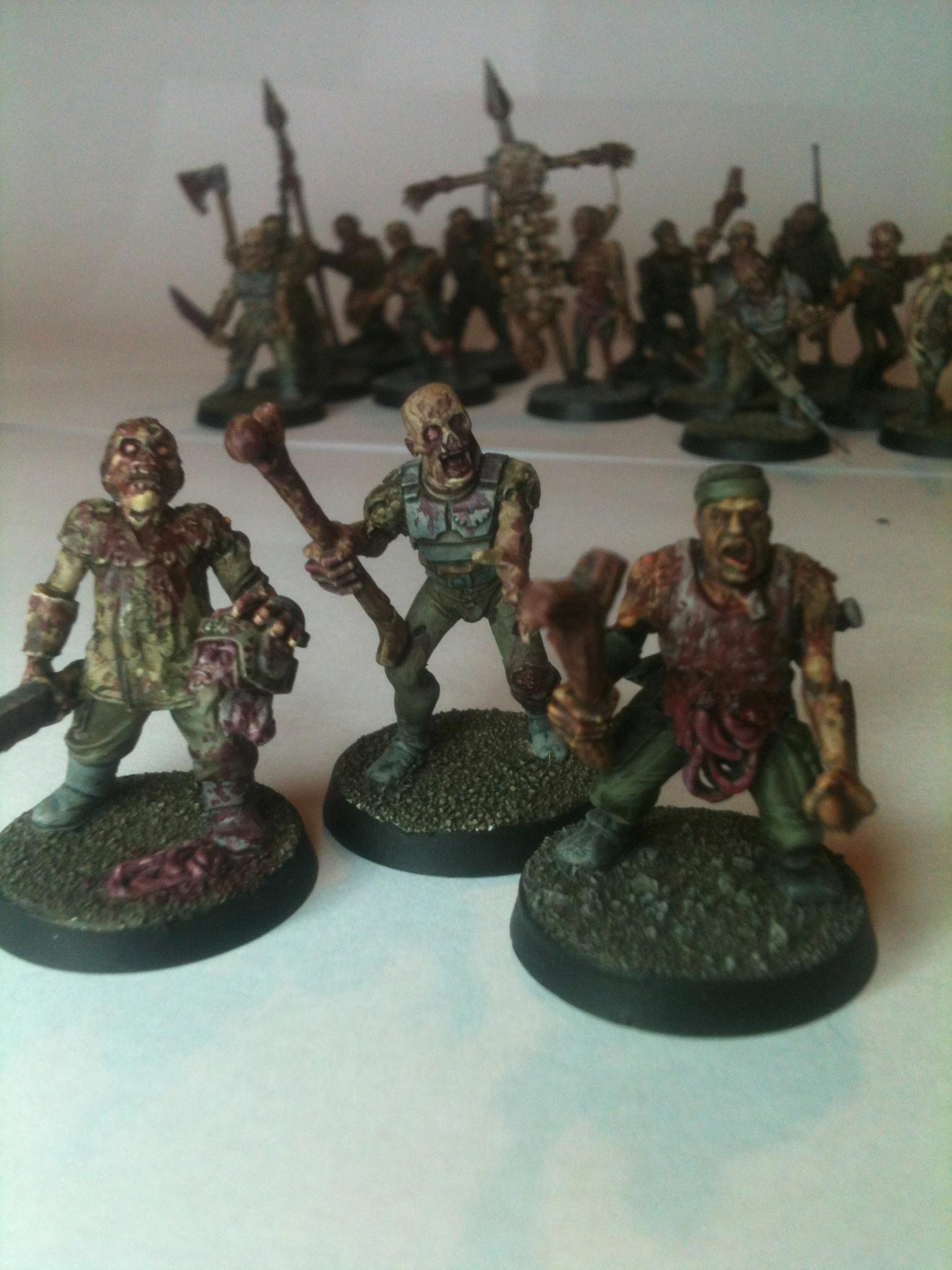 Chaos Cultists, Gore, Nurgle, Undead Guard, Warhammer 40,000