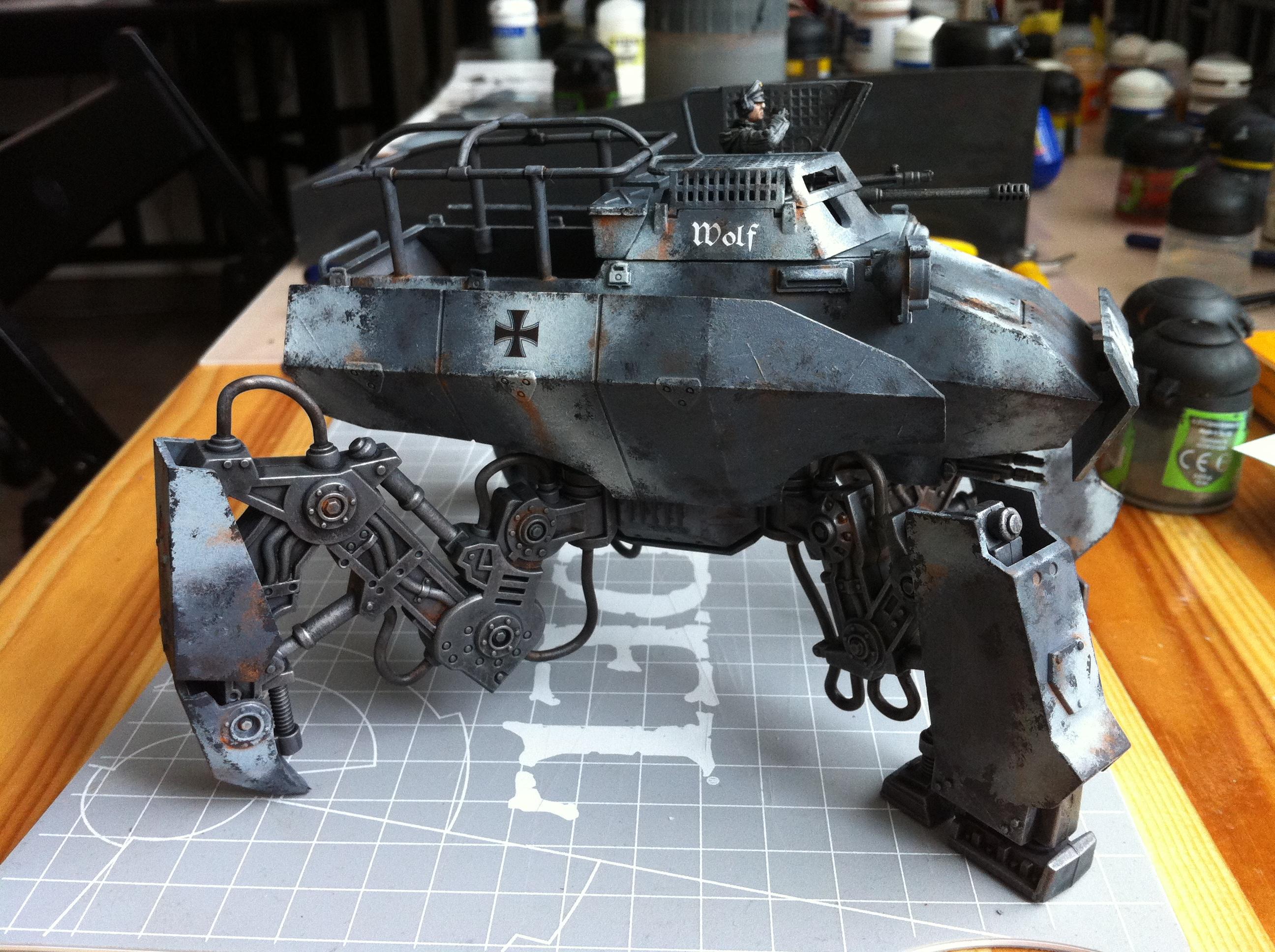 Axis Armored Transport, Dust Tactics, Dust Warfare