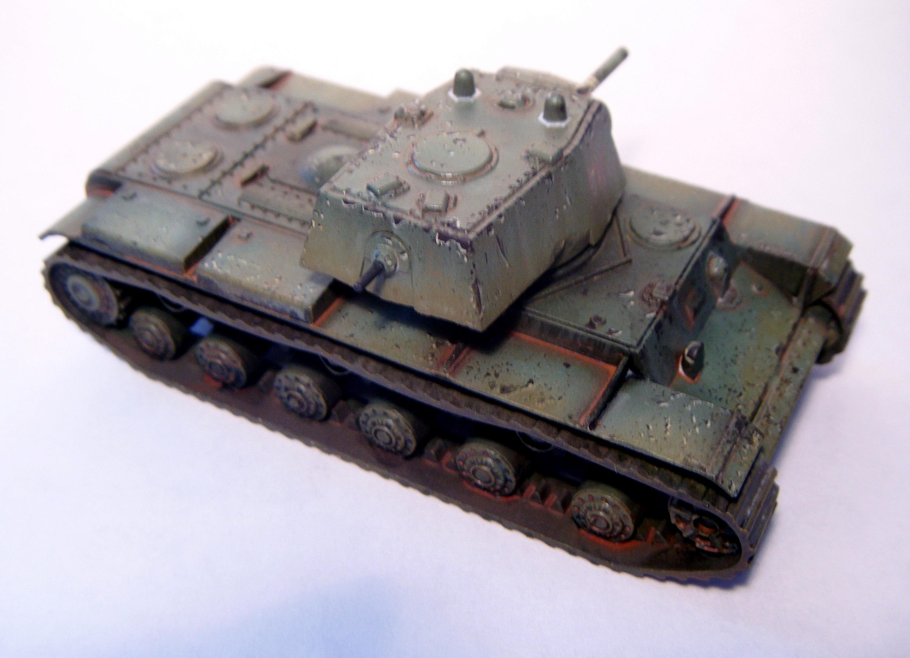 Flames Of War, Kv1, Russians, Tank, Zvezda