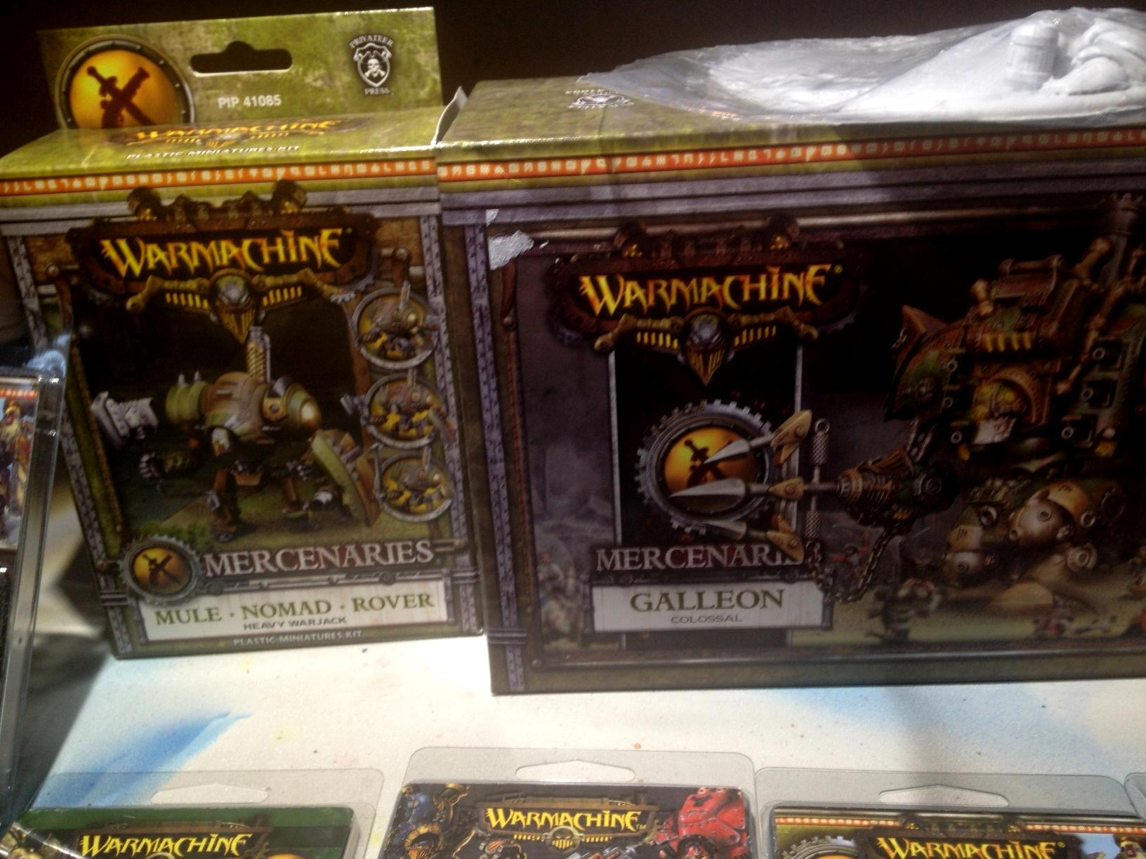 Mercenary, Privateer Press