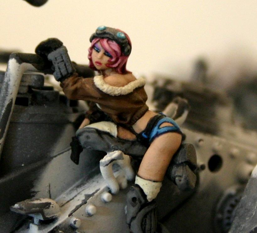 Female Models, Imperial Guard, One Shot, Soda Pop, Tank Crew, Warhammer 40 K