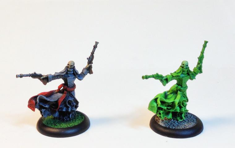 Cryx, Pistol Wraith, Warmachine