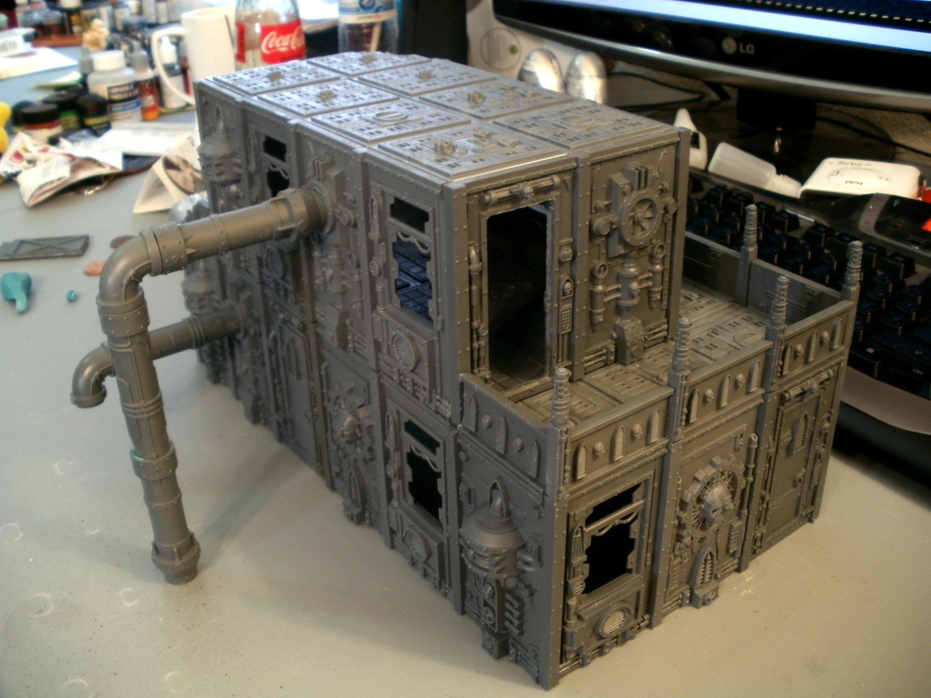 Cities Of Death, Manufactorum, Terrain, Work In Progress