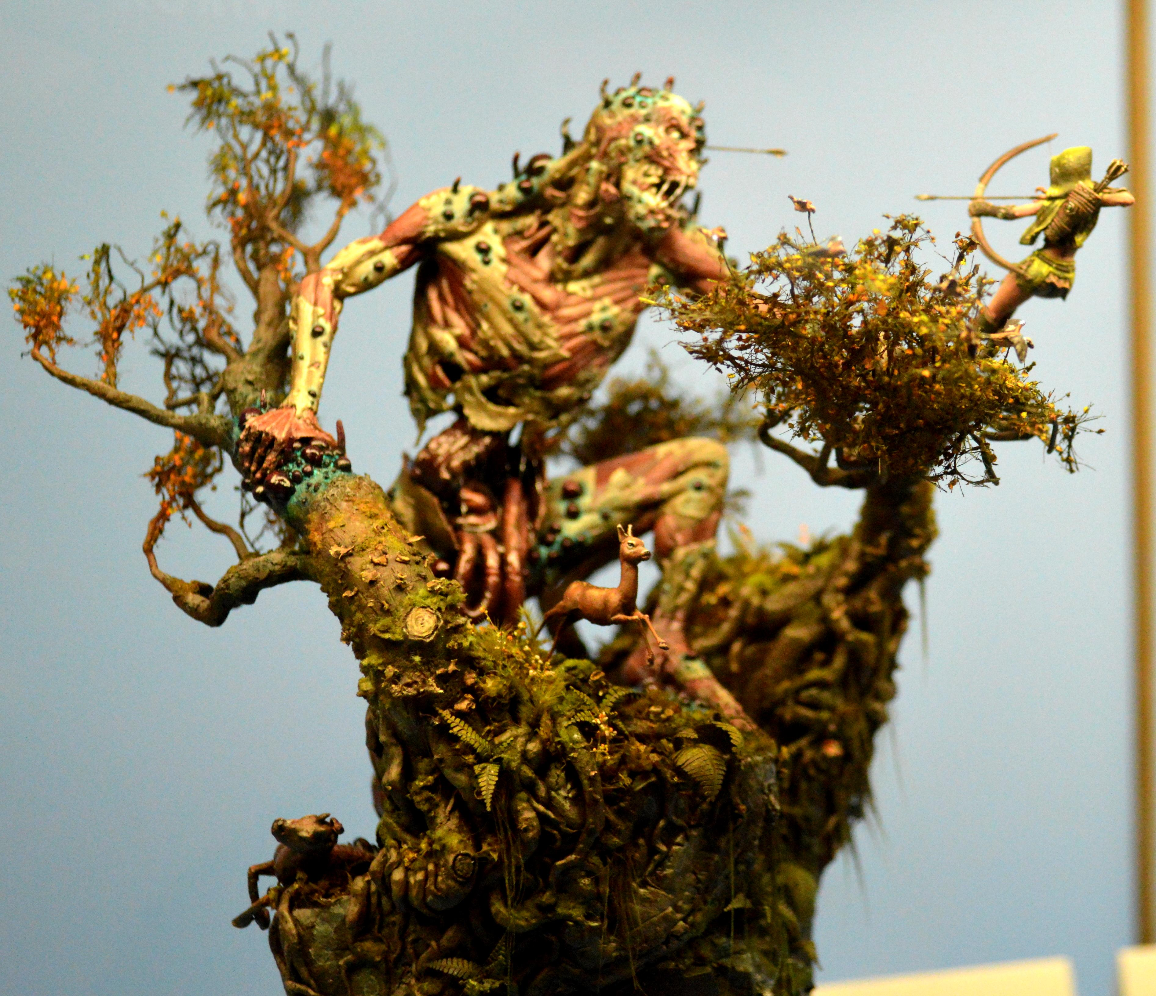 Adepticon 2013, Archers, Crystal Brush, Decay, Deer, Giant, Trees, Zombie